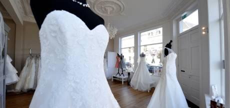 Senfina Bruidsmode in Bergen op Zoom sluit de deuren: 'De branche ligt zo goed als stil'