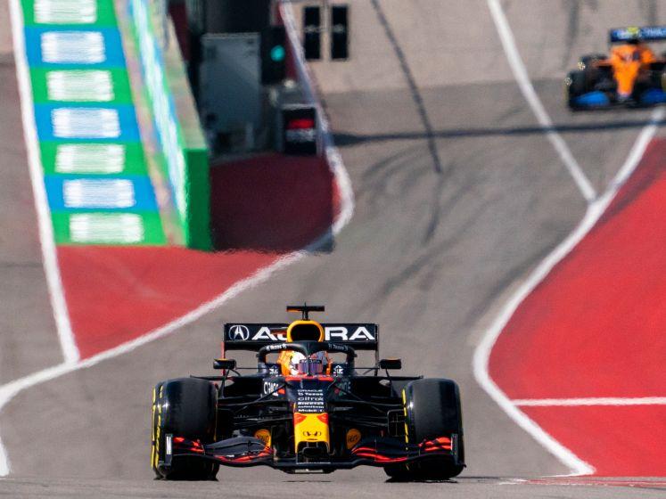 Aanvaring tussen Verstappen en Hamilton in VT2