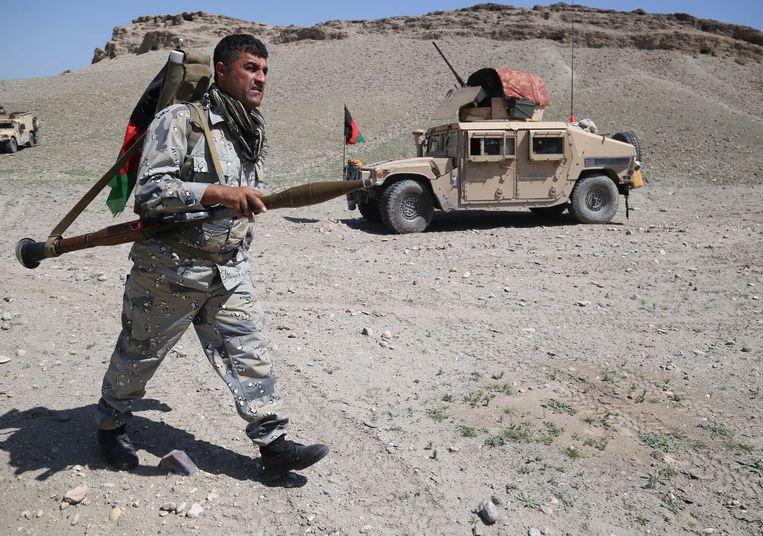Afghaanse troepen.