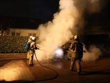 Brand in lesauto maakt eind aan eerste rijles