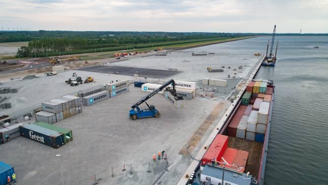 Belangstelling is groot voor industrieterrein bij containerhaven Flevokust