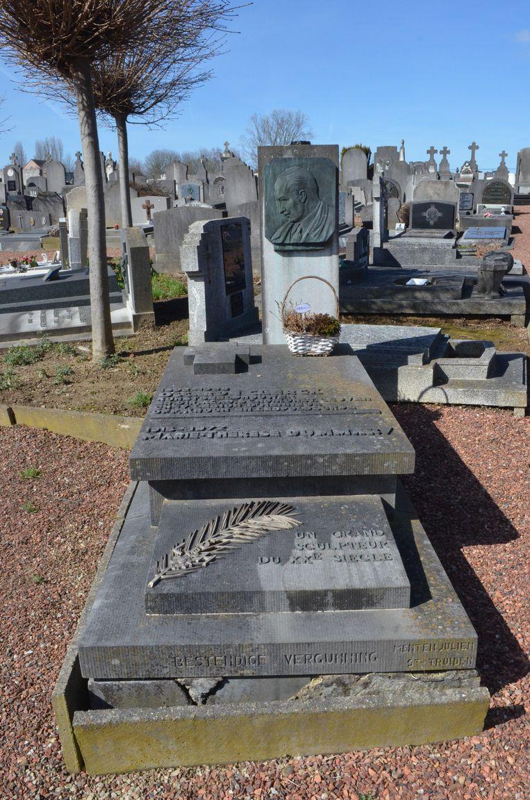 Ook het graf van Oscar De Clerck geniet een voorlopige bescherming.