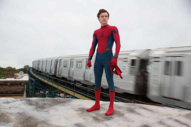 Tom Holland in 'Spider-Man: Homecoming'. Beeld RV