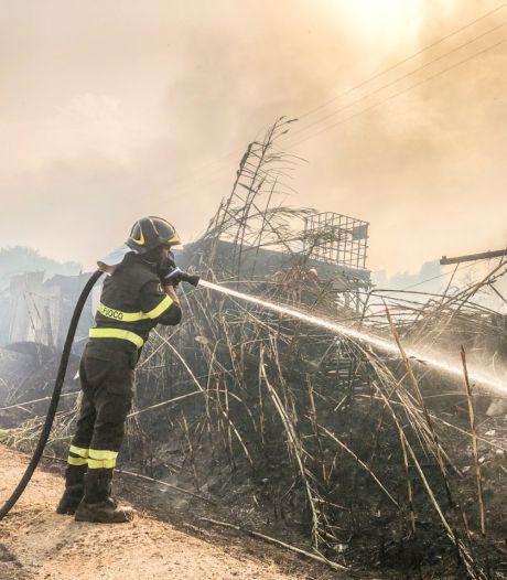 Bosbranden op Sardinië en in Zuid-Frankrijk, EU stuurt blusvliegtuigen naar Italië
