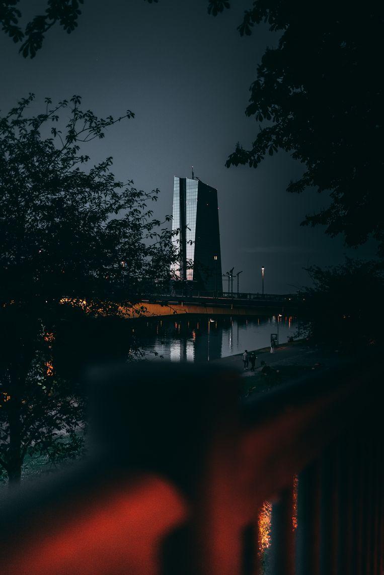 De ECB in Frankfurt.  Beeld Getty Images
