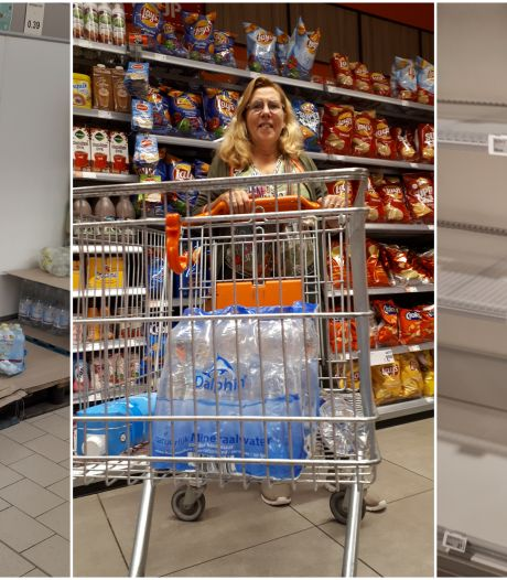 Run op water in 'leeggeroofde' Oldenzaalse supermarkten: 'Het is een rare situatie'