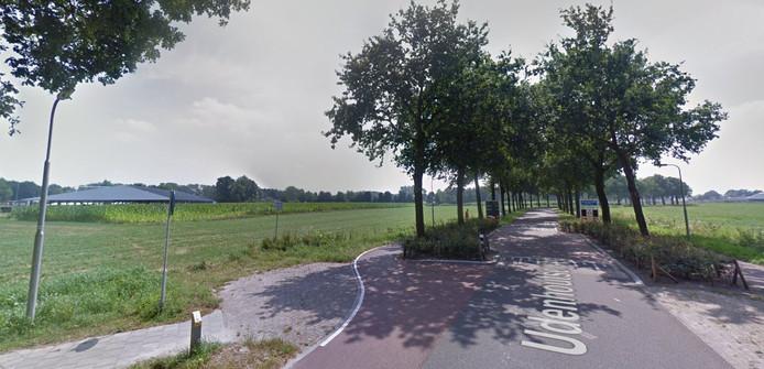 Het nieuwbouwplan komt tegen de rand van de bebouwde kom van Udenhout.