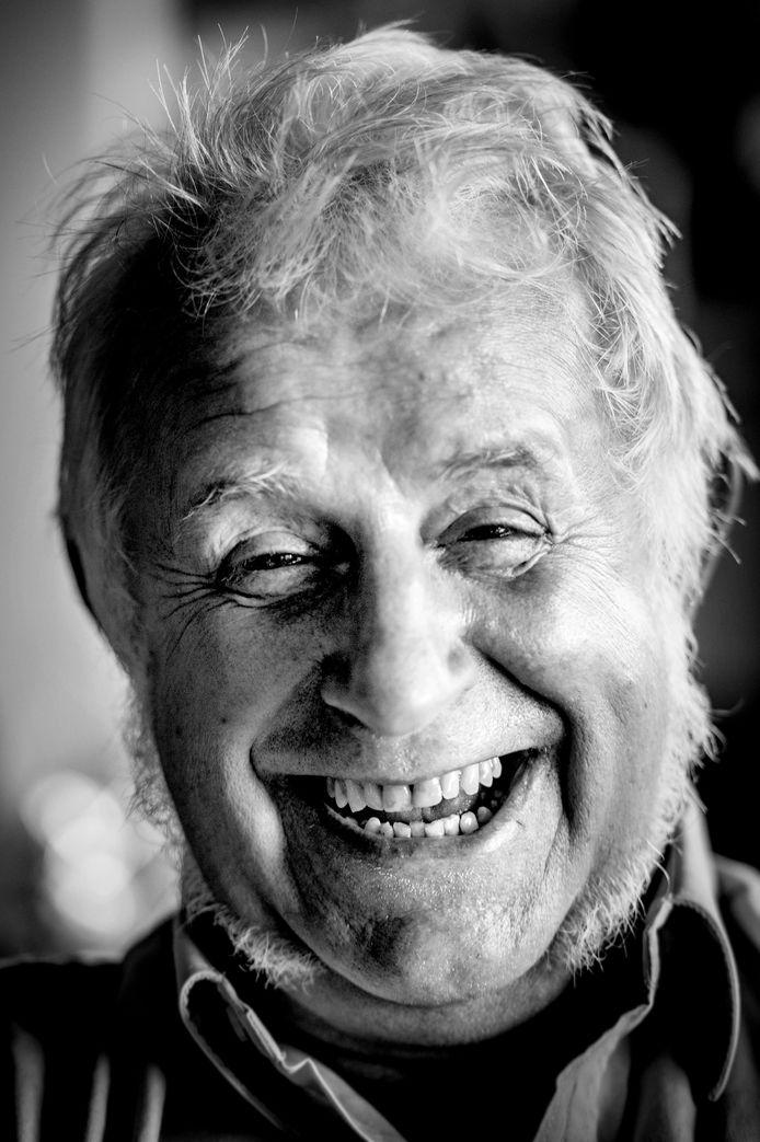 Peer Witzel, november 2018, met zijn kenmerkende lach.