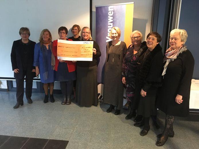 De Liberale Vrouwen en het Willemsfonds zamelden het geld in.
