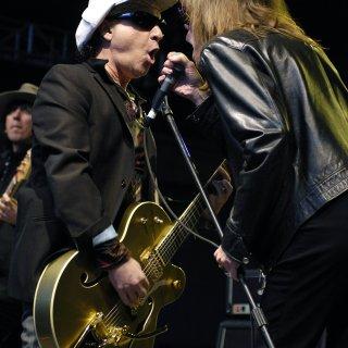 Gitarist Sylvain Sylvain (1951-2021) was met de New York Dolls punk vóór de punk