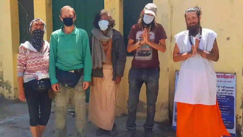 Vijf van de zes toeristen die door de Indiase politie werden gevonden.