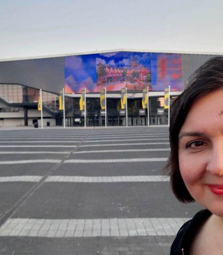 Werk van Roosendaalse kunstenaar op led-scherm Ahoy in Rotterdam: 'This is huge!'