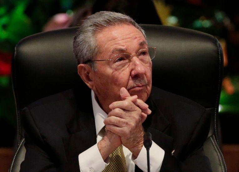 Raul Castro. Beeld REUTERS