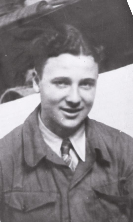 Peter van Pels, 1942.