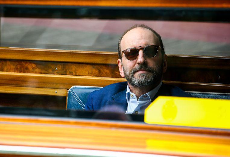 Regisseur Steven Soderbergh, begin september, op het Filmfestival van Venetië. Beeld Getty Images