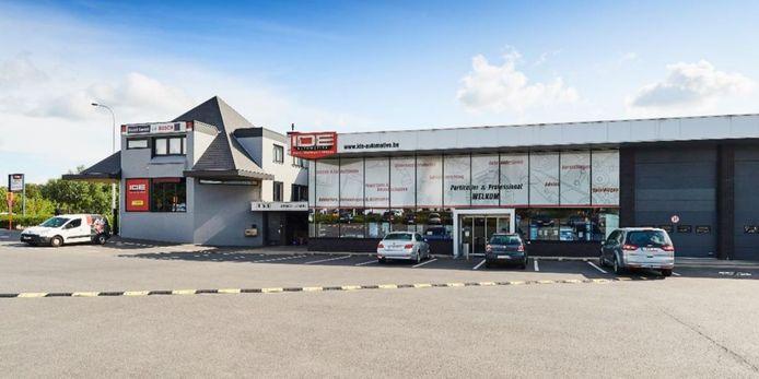 De hoofdzetel van Ide Automotive in Pittem