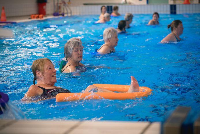 Sportief bewegen tijdens AquaSportief.