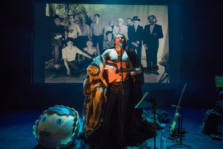 Theaterconcert Karandasj van KOPERGIETERY staat in Freiburg op een van de grootste Duitse festivals.  Beeld RV Phile Deprez