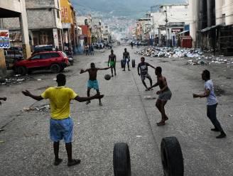 Algemene staking tegen bendegeweld in hoofdstad Haïti