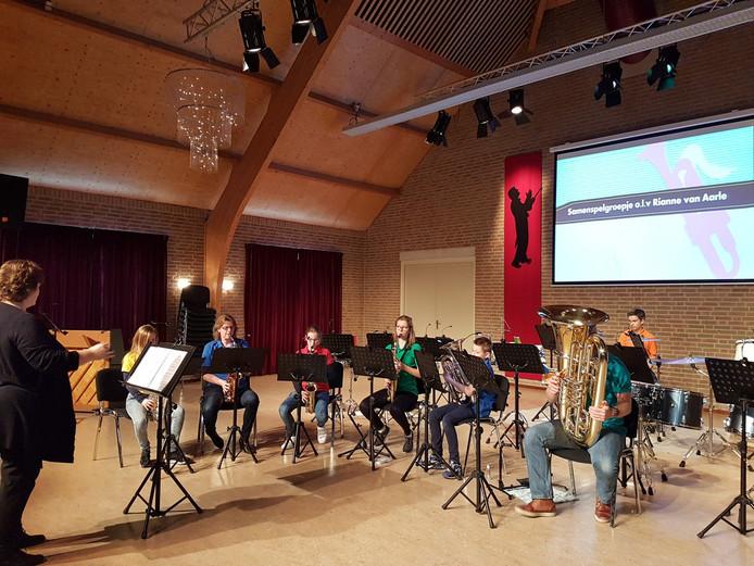 De jongste generatie betreedt de bühne bij Fanfare Concordia Liempde.