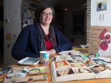 Ingrid Vermeer geeft papierafval een tweede leven in de kunst