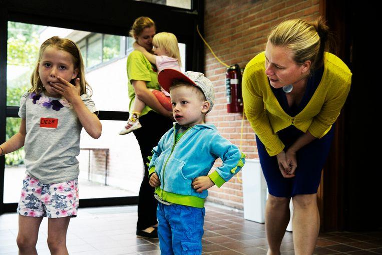 Buitenschoolse kinderopvang staat op de lijst van klussen die omschreven kunnen worden als vrijetijdswerk. Beeld Tim Dirven