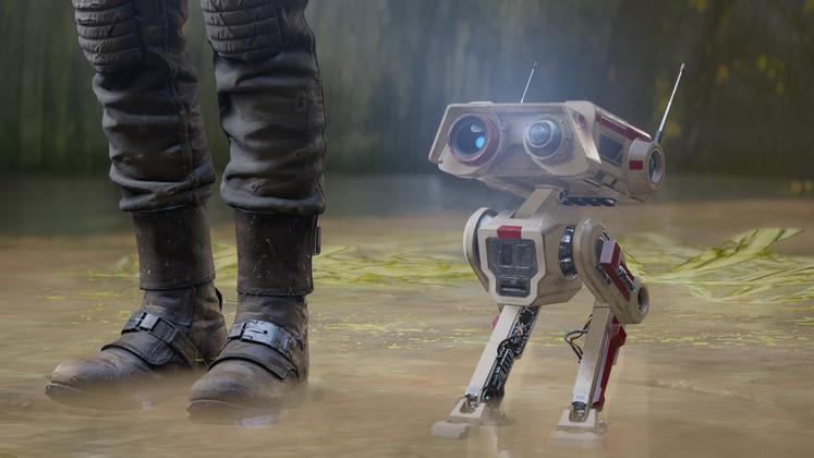 In het rijtje 'aandoenlijke droids' kan deze BD-1 illustere voorgangers als R2-D2 en BB-8  opvolgen.