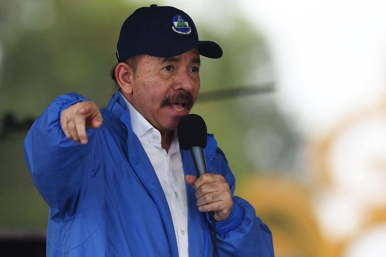 Daniel Ortega. Beeld AFP