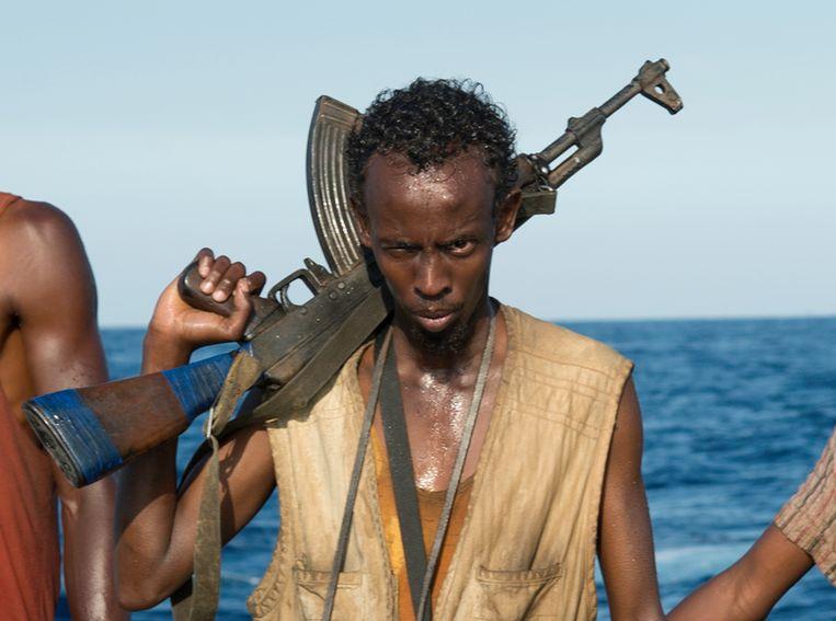 Barkhad Abdi in Captain Phillips Beeld AP
