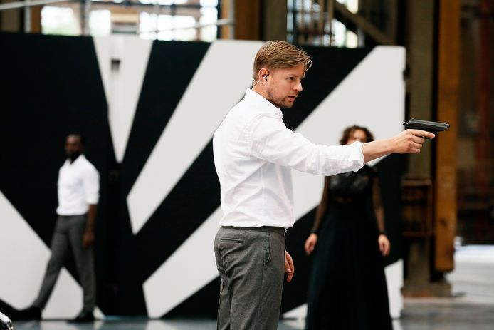 Martijn Cornet tijdens een generale repetitie van de opera Don Giovanni.