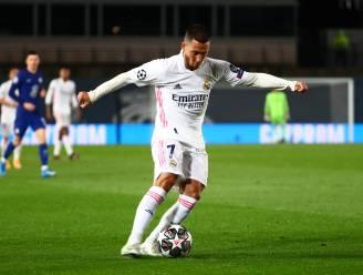 """Eden Hazard speelt klein halfuurtje mee bij Real: """"Ik doe het stap per stap"""""""