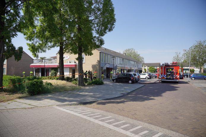 Rond 10.00 uur donderdagochtend brak er brand uit in Sophia Fotostudio aan de Roerdompstraat in Wijchen.