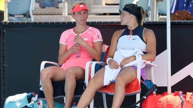 Elise Mertens plaatst zich in Melbourne voor halve finales dubbelspel