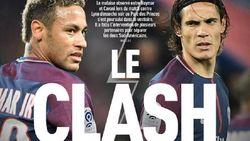 """""""Cavani en Neymar uit elkaar gehaald op weg naar kleedkamer"""" (en daar zit deze clausule in hun contract mogelijk voor iets tussen)"""