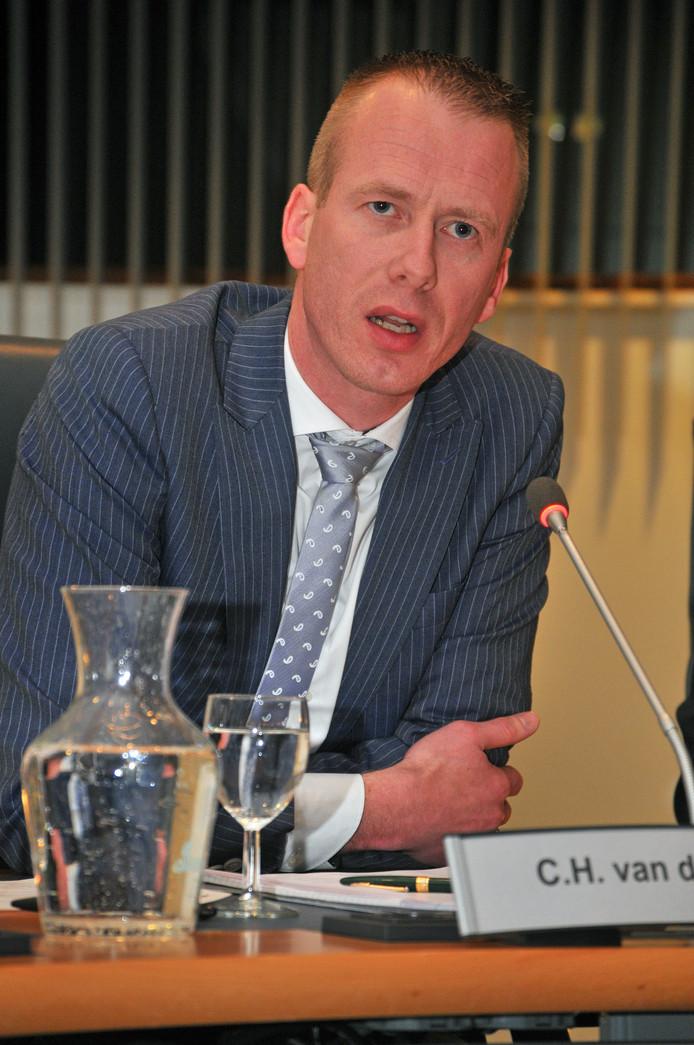 Wethouder Cees van den Bos.
