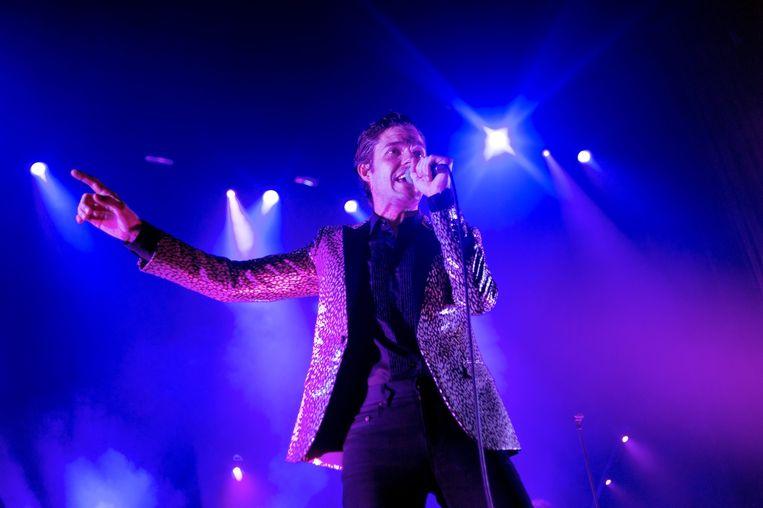Brandon Flowers stelde zijn soloplaat 'The Desired Effect' onlangs nog voor in de AB. 'Zonder Pet Shop Boys had ik misschien zelfs geen muziek gemaakt.' Beeld Alex Vanhee