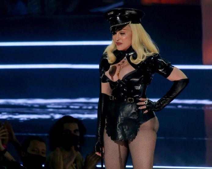 Madonna aux MTV Video Music Awards dimanche.