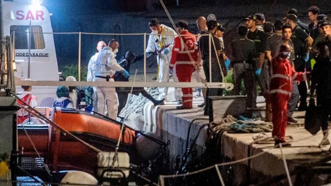 Italië ontscheept 176 migranten aan boord van Ocean Viking