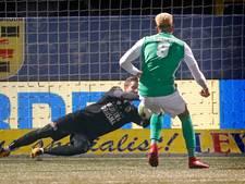 FC Dordrecht blijft weer verstoken van winst bij SC Cambuur