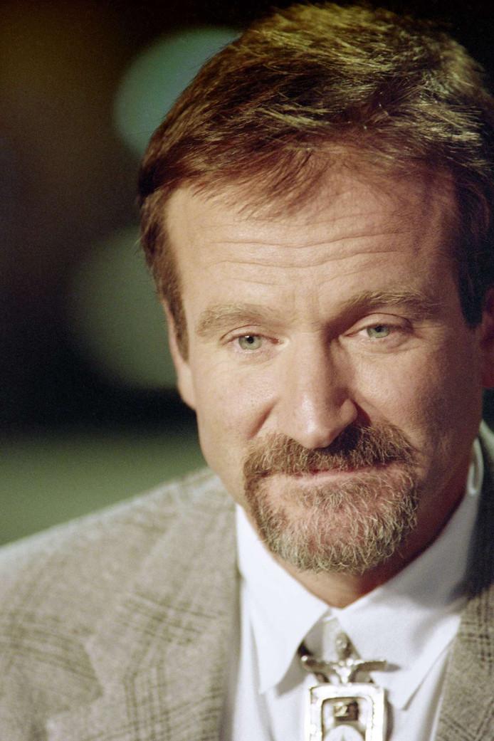 1994: Williams tijdens een interview voor een Frans programma.