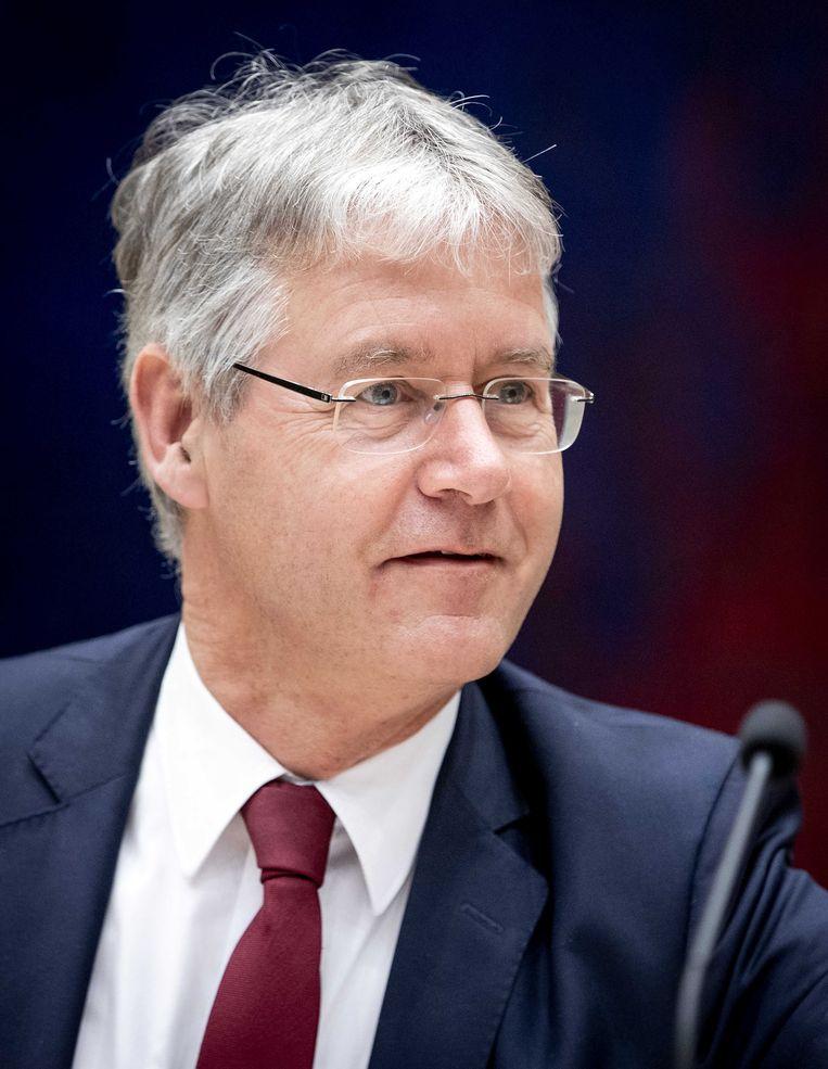 Arie Slob, demissionair minister voor Basis- en Voortgezet Onderwijs en Media. Beeld SEM VAN DER WAL/ANP