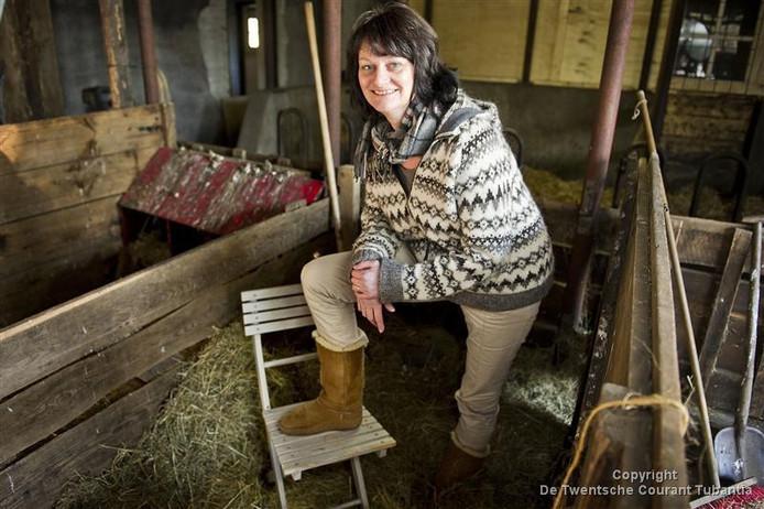 Rianne Lubbers in de Judithhoeve. Ze zit al anderhalf jaar ziek thuis.
