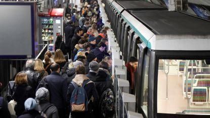 """Staking Parijse metro vanaf maandag tijdlang opgeschort: """"Maar dit is niet het einde"""""""