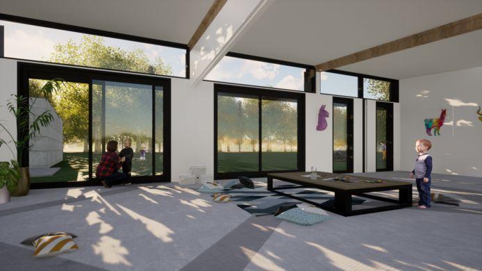 De nieuwe lokalen van Chiro Mik Mak in Sterrebeek zijn mogelijk in september al klaar.