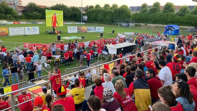 600 Grimbergenaren gaan uit hun dak op tribune Strombeek-Bever