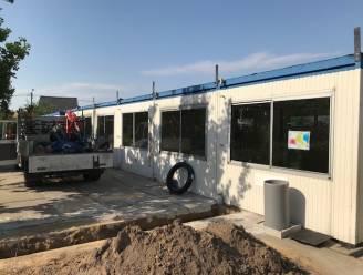 Moderne containerklassen voor scholen Ezaart en Heidehuizen