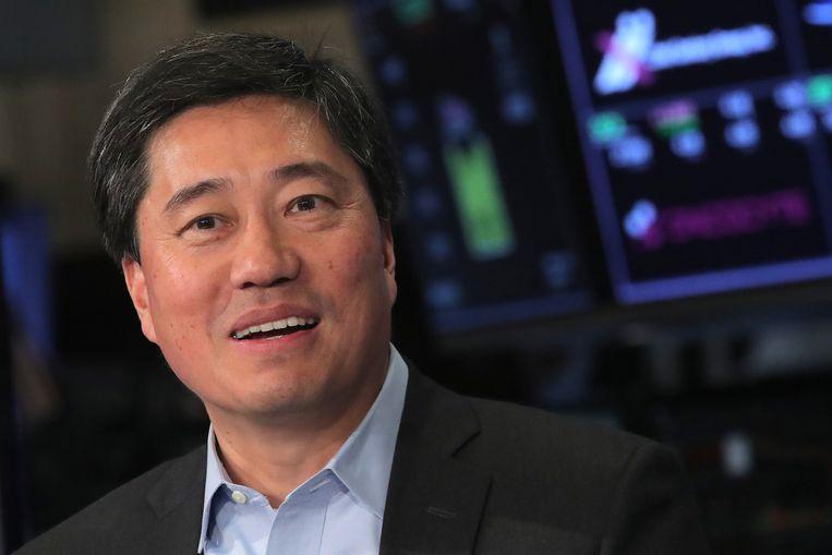 Nelson Chai, de financiële topman van Uber.  Beeld REUTERS