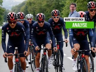 """Onze chef wielrennen Marc Ghyselinck over de tactiek van Ineos-Grenadiers: """"Van een ploeg controlefreaks verveld tot een agressief koersende formatie"""""""