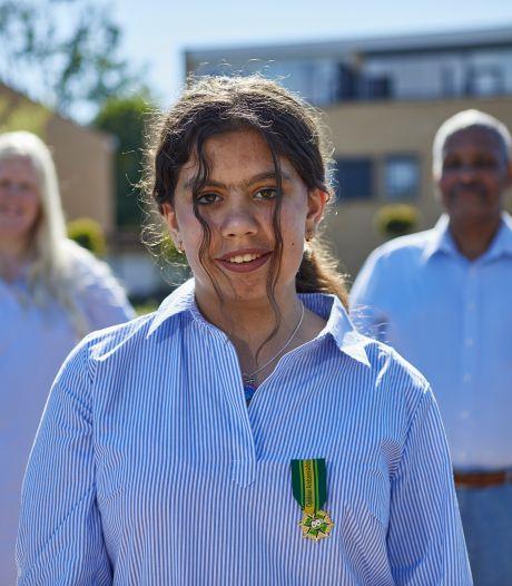 Ondanks eigen spierziekte helpt Jannah (11) uit Zutphen zieke kinderen aan onvergetelijke dag