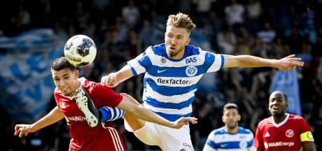 Promotieheld Serrarens ging in 2018 bij De Graafschap in zijn boxershort van het veld: 'Gelukkig heb ik mijn wedstrijdshirt nog kunnen redden'